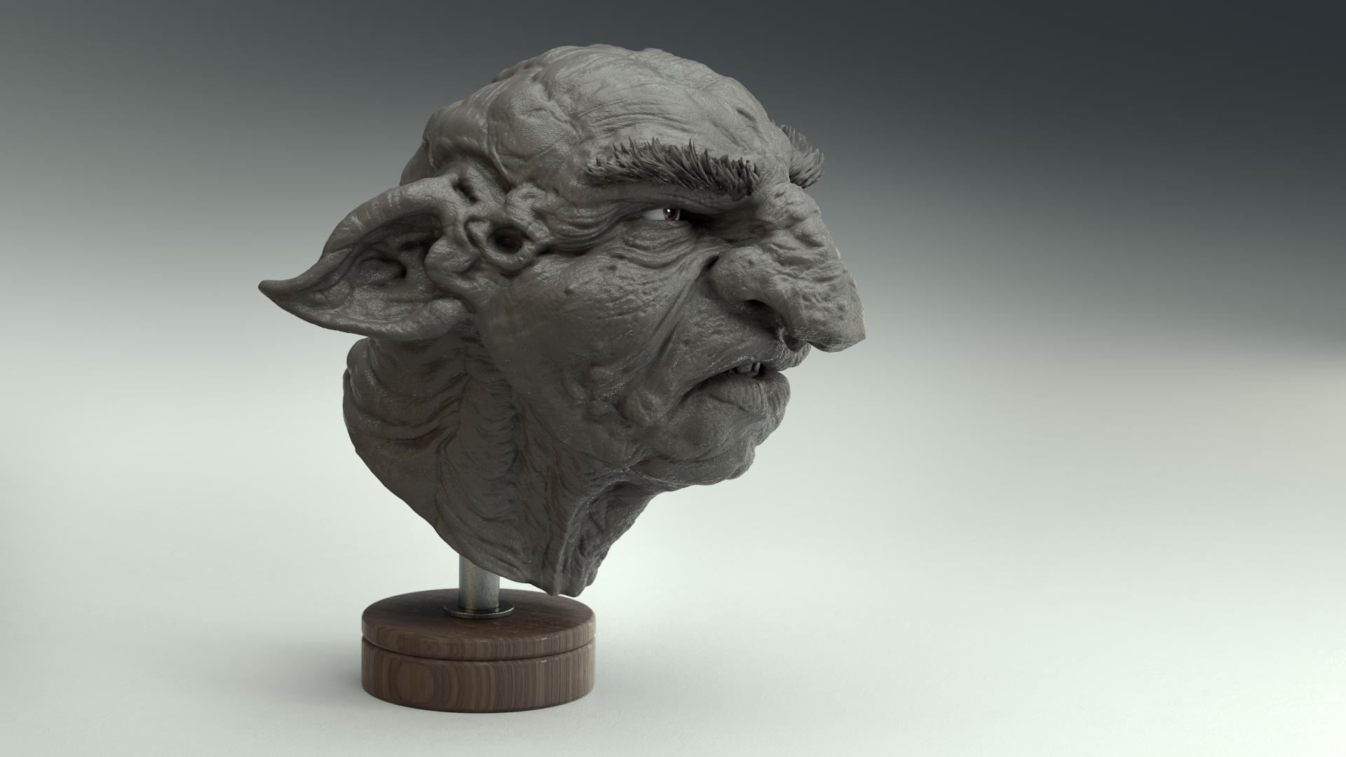 Gnome - Sketch - Zbrush